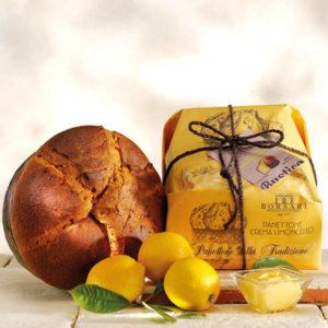 panettone artisanal avec crème de limoncello epicerie italienne